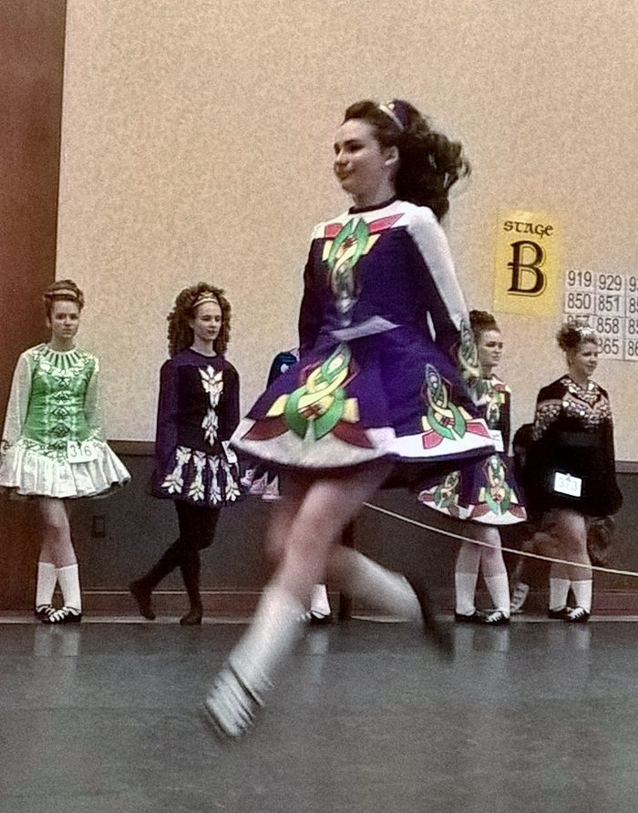 Alessandra Irish Dancing